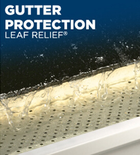 Leaf Relief Gutter Protection System
